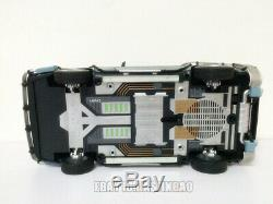 1/18 Back To The Future Time Machine Wheels Elite Ver Car With Accessories Toys