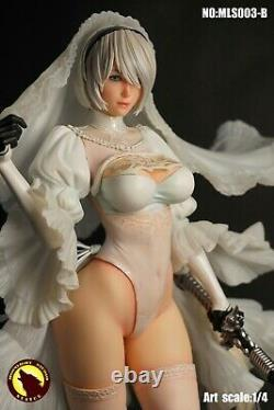 1/4 2B White Wedding Ver. Figure Statue MOONLIGHT STUDIO NieR Automata YoRHa Mod