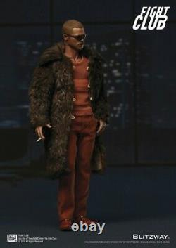 1/6 BLITZWAY BW-FC00325 Brad Pitt Fur Coat Ver. Fight Club Collection Figure Toy