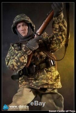 1/6 DID Action Figure WWII German SS-Panzer Division MG34 Gunner Ver. C D80127