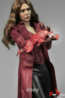 1/6 Scarlet Witch 3.0 Female FULL Action Figure FIRE A029 Avengers Battle VER