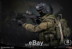 1/6 Soldier Figure DAMTOYS RUSSIAN SPETSNAZ MVD SOBR LYNX 8th Anniversary Ver