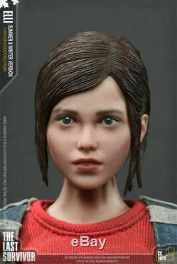 1/6 The Last of Us Ellie Female Survivor Figure Summer&Winnter Coat T-shirt Ver