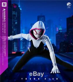 1/6 YR TOYS YR009 Spider Gwen Stacy Figure Collectible Toy Battle Clothes Ver