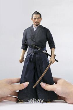 1/6th POPTOYS EX033 Brave Samurai UJIO 12Male Action Figure Kendo Ver