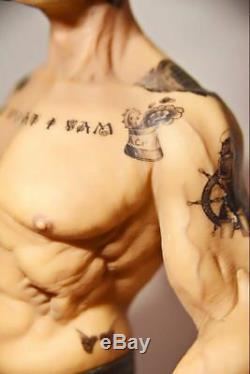 12 Popeye 1/6 The Sailor Resin Statue Realistic TATTOO BODY Ver. FIGURE