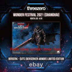 2021 WF WONDER FESTIVAL Gess Berserker Armor Guts THREEZERO Armour ver