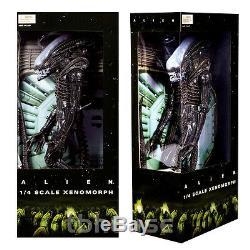 22 ALIEN figure 1/4 SCALE XENOMORPH 1979 big chap OPEN MOUTH VERS aliens NECA