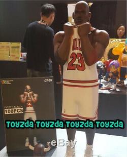 50cm Fools Paradise XL THREE KING TWO THREE NO 23 Bulls Jordan White Ver Vinyl