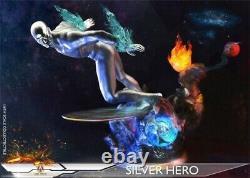 ADD TOYS 1/6 Deluxe Ver Silver Surfer Norrin Radd Super Hero 12inches Figure