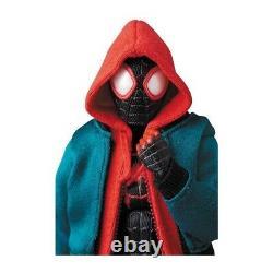 Authentic Medicom Toy MAFEX SPIDER-MAN Miles Morales Spider Verse ver