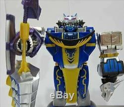 BANDAI Power Rangers Wild Force DX Gao Hunter megazord Blue ver