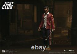 BLITZWAY Fight Club Tyler Red Jacket Ver. 1/6th Collectible Figure New In Stock