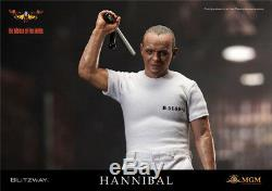 BLITZWAY The Silence of Lambs 1991 Hannibal Lecter Prison Uniform VER 1/6 Figure
