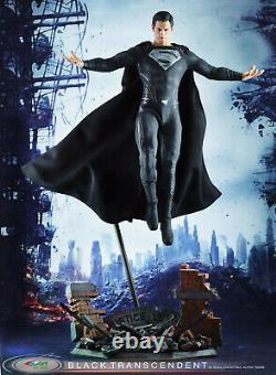 BY-ART BY-015 1/6 Superman Clark Kent Kal-El Black Suit Ver. Action Figure