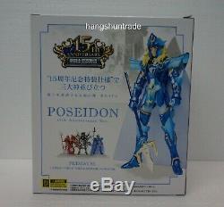 Bandai Saint Seiya Cloth Myth Poseidon Julian Solo 15th Anniversary Ver. Figure