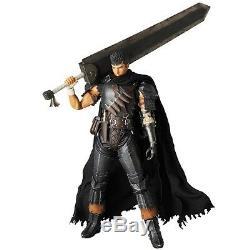 Berserk Golden Age Arc RAH Action Figure Guts Black Swordsman Ver. 14 1/6 NEW