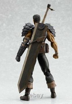 Berserk figma Guts Black Swordsman Ver. Action Figure 165mm Anime