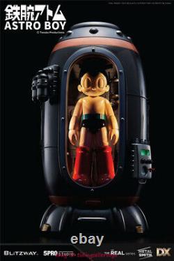 Blitzway Astro Boy Atom Superb Anime Statue DX ver. LED Figure Diorama Base New