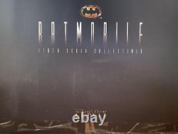 Brand New Hot Toys Movie Masterpiece 1/6 Scale Batman Batmobile 1989 Ver. Rare