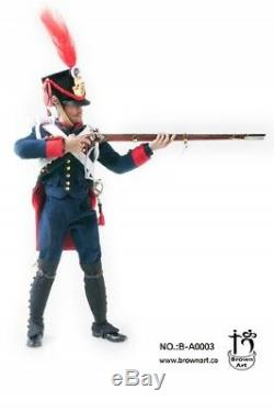 Brown Art Napoleonic Wars Series French Field Artillery Gunner 1/6 Deluxe Ver