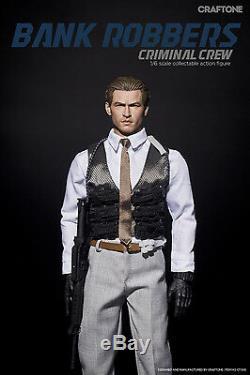 CRAFTONE Bank Robbers Criminal Crew Val Kilmer Premium Ver 1/6 Figure