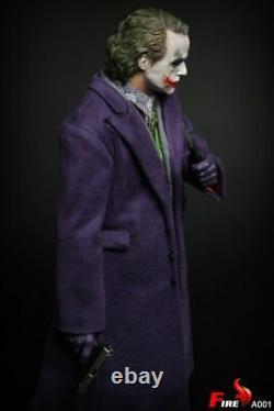 DHL 1/6 Fire Toys A001 Batman The Dark Knigh Joker Purple Coat Ver Action Figure