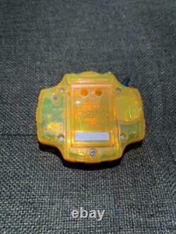 Digimon Adventure Digivice Orange color ver Taichi Yagami 1999 BANDAI Used