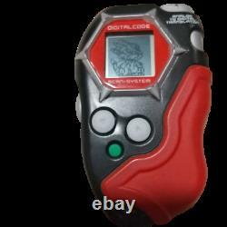 Digimon Frontier Digivice D Scanner Ver. 1 Black Red BANDAI 2002 Digital Monster
