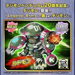 Digital Monster Digimon Pendulum ver. 20th Original Silver Blue
