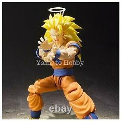 Dragon ball Z Super Saiyan 3 Son Goku Action Figure S. H. Figuarts USED 2017 Ver