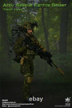 EASY&SIMPLE 1/6 ES26042R Army Special Forces Sniper Tropic Ver. Soldier Figure