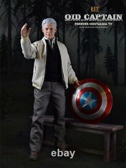End I Toys 1/6 EIT010 Captain America Old Ver. Action Figure Set Collectible Toy