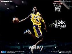 Enterbay 1/6 Masterpiece NBA #24 Kobe Bryant 2020 Reissue Update Ver. New