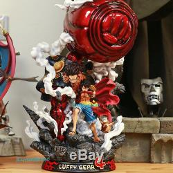 F3 Studio Monkey D Luffy Figure Gear Fourth Ver. Big Fist GK Model In Stock Hot