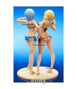 FAIRY TAIL Lucy & Yukino Limited Suntanned Ver. Set 1/7 Pvc Figure X Plus