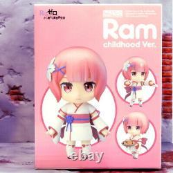 GSC ReZERO Ram & Rem Childhood Ver. Nendoroid 942 Good Smile Company Figure Set