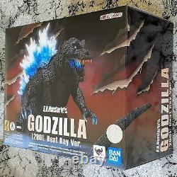Godzilla (2001) All-Out Attack Heat Ray Ver S. H. MonsterArts Figure by Bandai NIB