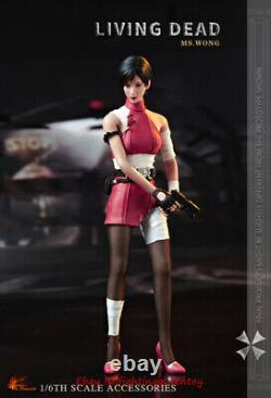 Hot Heart FD006B Resident Evil Ada Wong Damaged Ver. 1/6 Clothes Set INSTOCK
