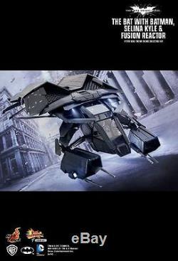 Hot Toys 1/12 TDKR The Dark Knight Rises The Bat Deluxe Ver Batman MMSC002 Japan