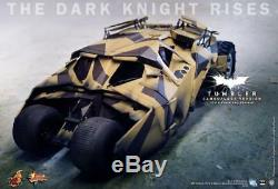 Hot Toys 1/6 Batman The Dark Knight Rises TDKR Batmobile Tumbler Camo Ver MMS184
