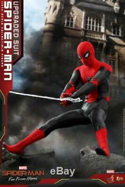 Hot Toys 1/6 Far From Home Spider-man Upgrade Battlesuit Ver. Figure MMS542