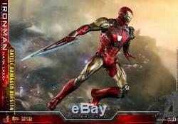 Hot Toys 1/6 MMS543D33 Avengers Endgame Iron Man Mark LXXXV MK85 War Damage Ver
