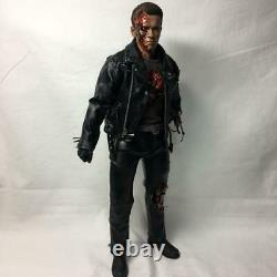 Hot Toys DX13 Terminator 2 T-800 Battle Damage Ver. 1/6 Scale Figure From Japan