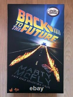 Hot Toys MMS 257 Back To The Future Marty McFly Michael J. Fox (Special Ver) USE