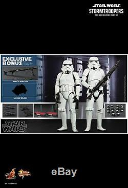 Hot Toys MMS 268 Star Wars New Hope Stormtrooper Stormtroopers Set (Normal Ver)