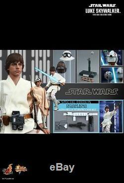 Hot Toys MMS 297 Star Wars A New Hope Luke Skywalker Mark Hamill (Special Ver)