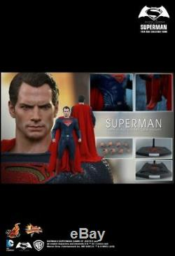 Hot Toys MMS 343 Batman Superman Dawn of Justice Henry Cavill (Normal Ver) NEW