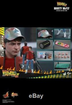 Hot Toys MMS 379 Back To The Future II 2 Marty McFly Michael J Fox (Normal Ver)