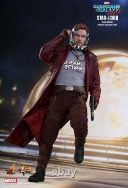 Hot Toys MMS 421 Guardians of the Galaxy 2 II Star-Lord Chris (Deluxe Ver) NEW